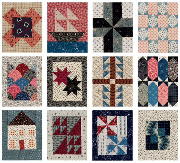 Blocks from The 4 x 5 Quilt-Block Anthology