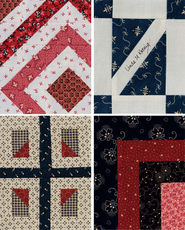 Original blocks from The 4 x 5 Quilt-Block Anthology