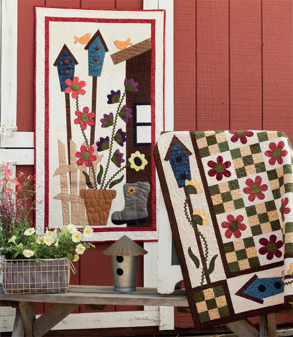Spring Blooms quilts