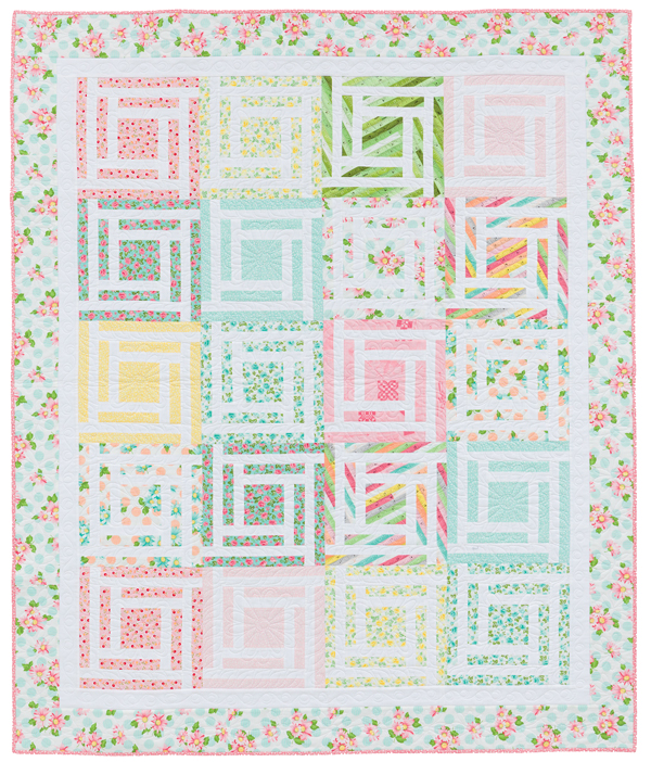 Caught in the Middle quilt