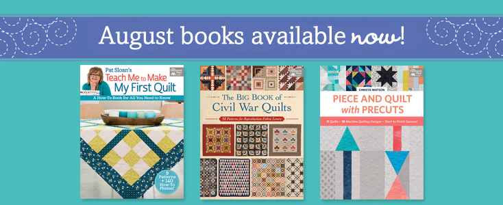 August books available now!
