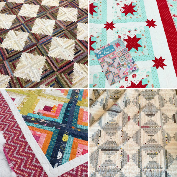 Quilts from I Love Log Cabins