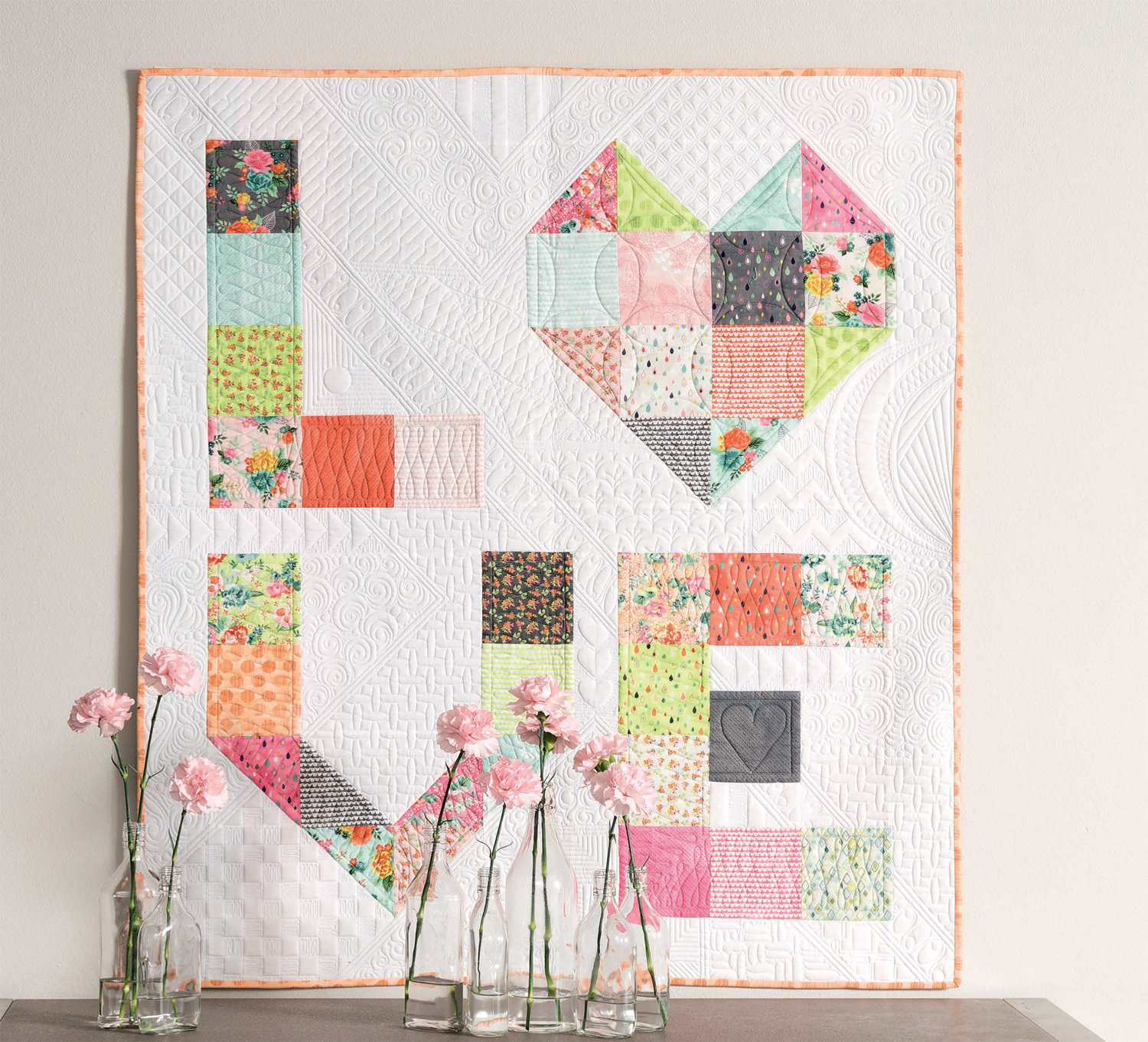 Wrapped in Love Layer Cake quilt