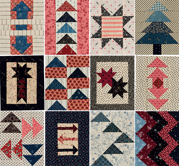 """From the 4"""" x 5"""" Quilt-Block Anthology"""
