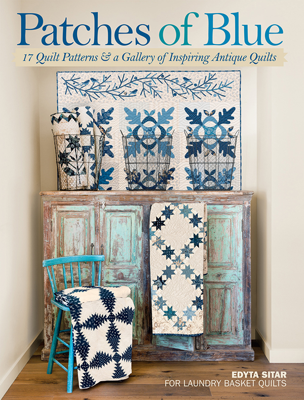 Preferred Masterpiece quilts with just 2 colors: Edyta Sitar's latest (+  MJ91