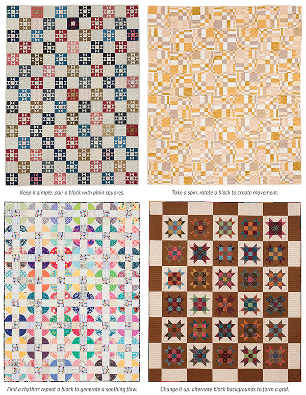 one-block quilts