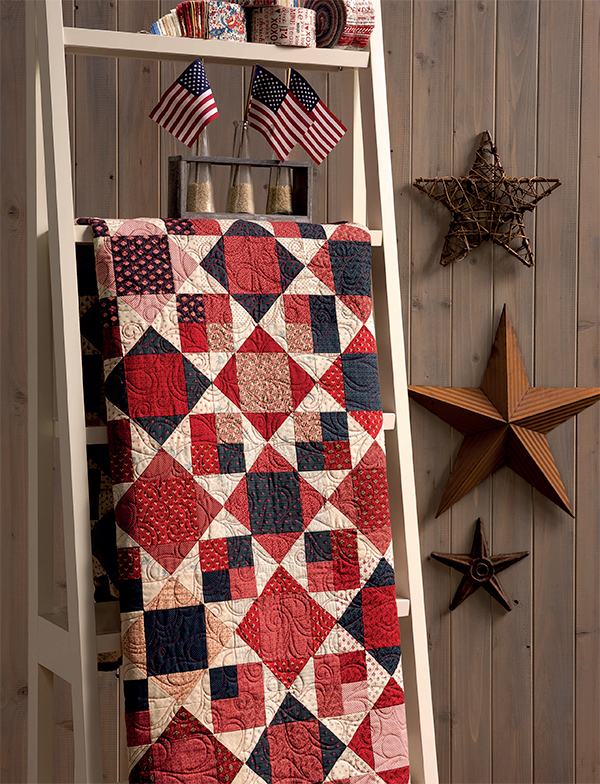 The Fourth of July quilt