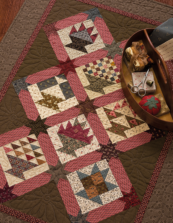 Tilly's Basket Sampler quilt