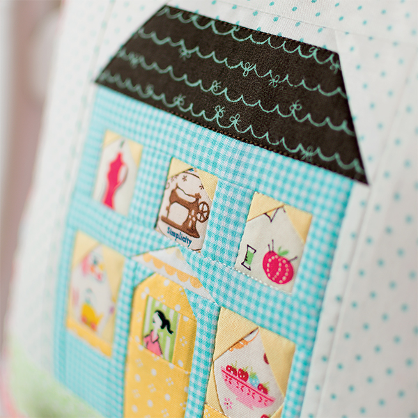 Sewing Cottage Pillow