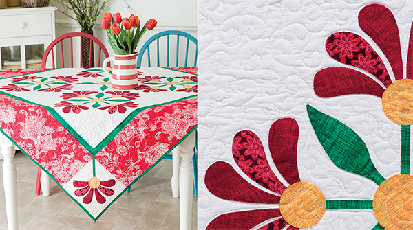 Mexican Rose quilt
