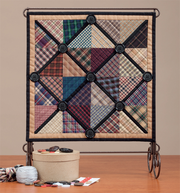 Playing with Plaids quilt