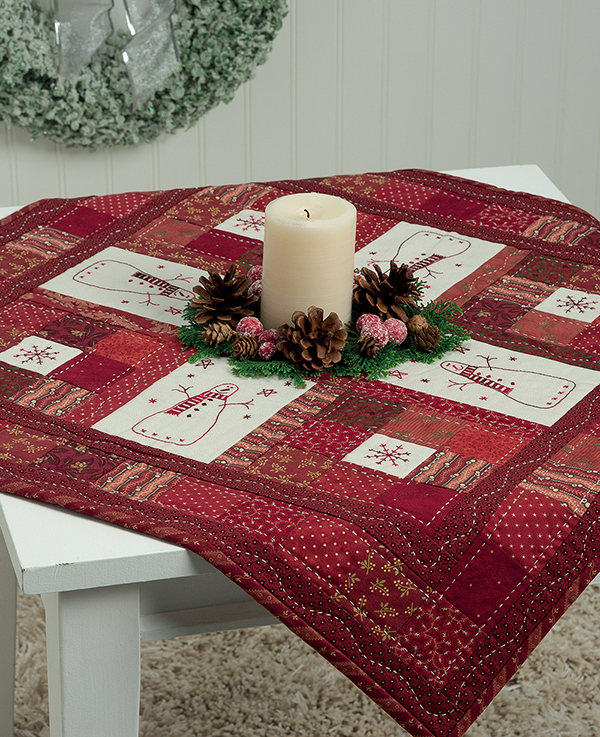 All around the Snowmen Table Topper