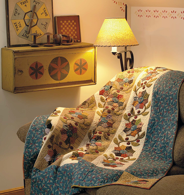 Pedal Pusher quilt