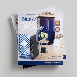 Minick and Simpson Blue & White