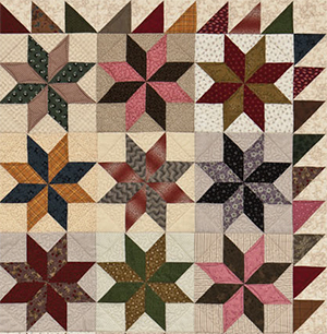LeMoyne Star quilt