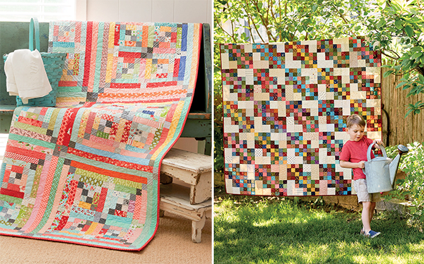 Scrap quilts from Oh, Scrap!