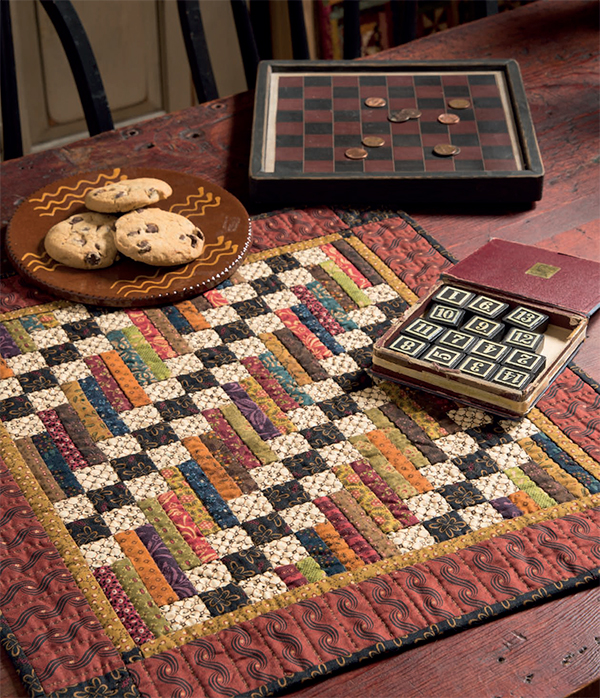 Playing Checkers quilt
