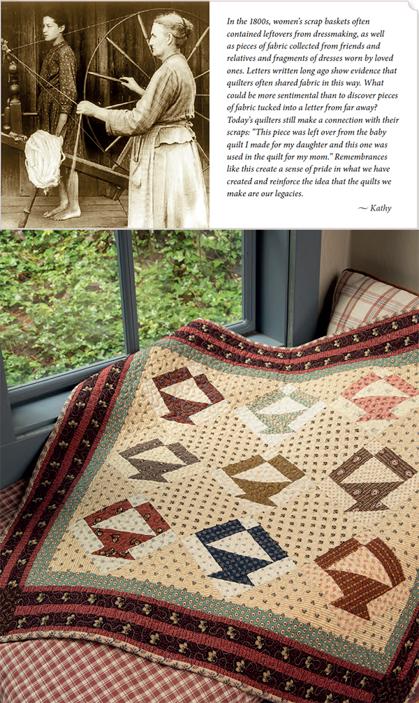 Patchwork from the past, reimagined on a small scale (+
