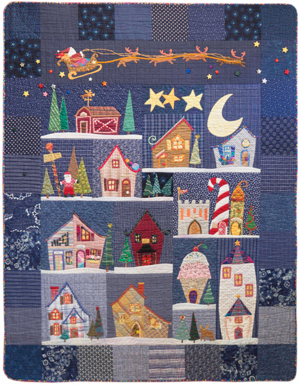 Welcome to the North Pole quilt
