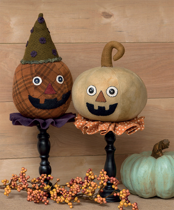 Pumpkin Head Whatnots