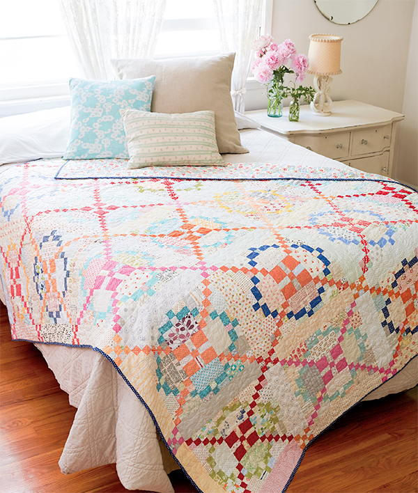 Surrounded quilt