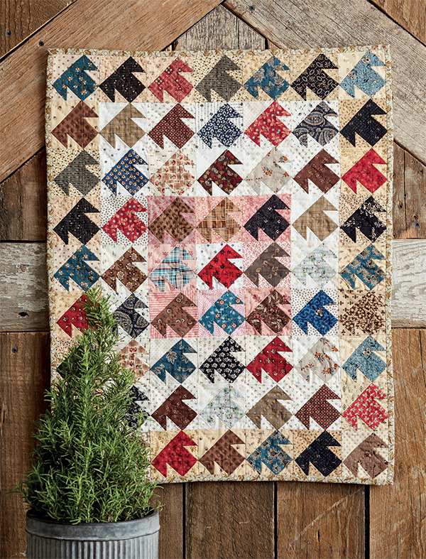 T is for Temecula quilt