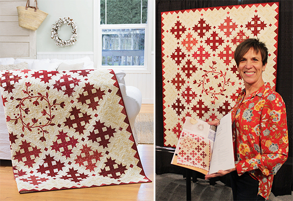 Tracking Tradition quilt
