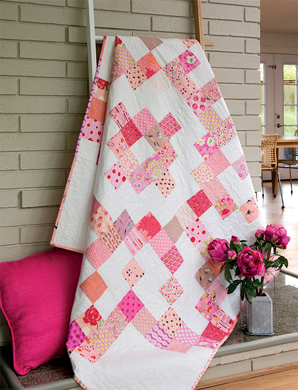 Pink Daisy quilt