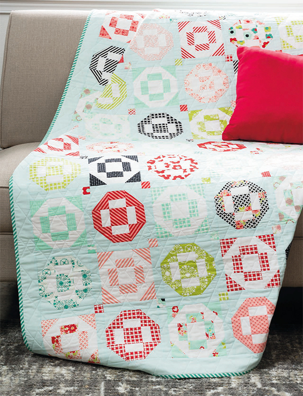 The Simplest Sampler quilt