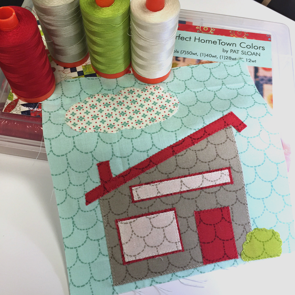 At Home Anywhere quilt block
