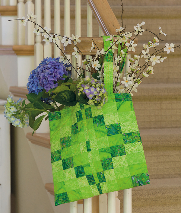 Bargello Diamond Star Tote