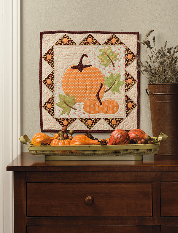 Farmer's Stand wall quilt