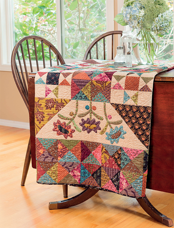 Late Bloomers quilt
