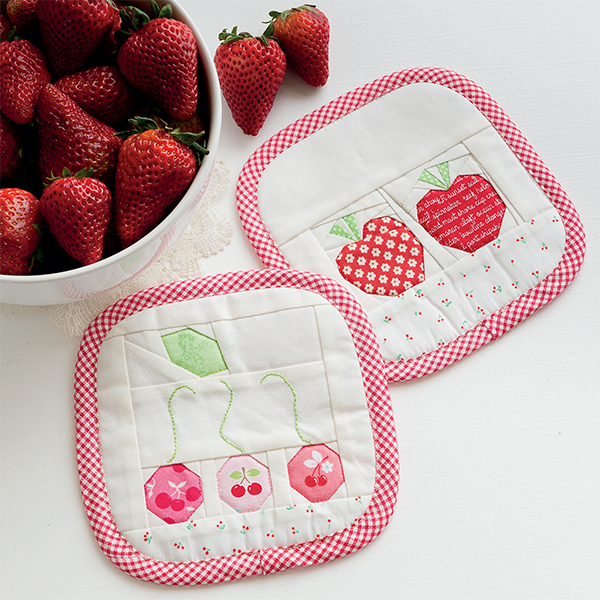 Summer Fruit Coasters