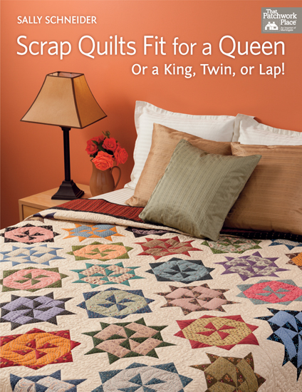 Scrap Quilts Fit for a Queen
