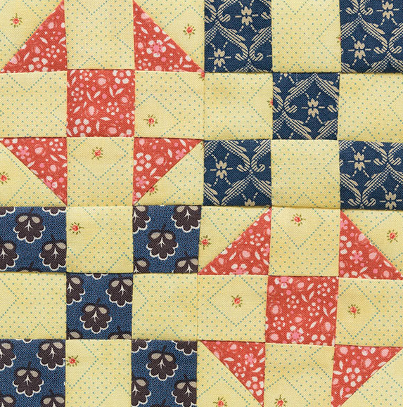 Double Dutch quilt block