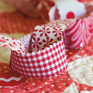 Jelly Roll Christmas Garland