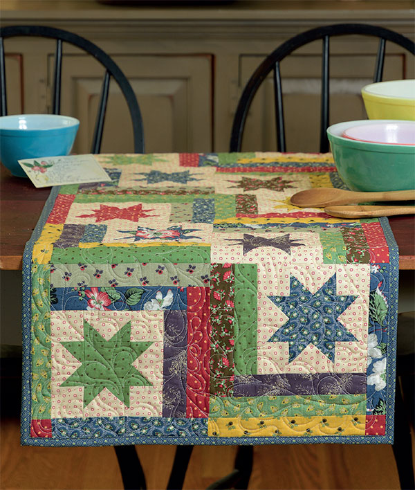 Farm Fresh table runner