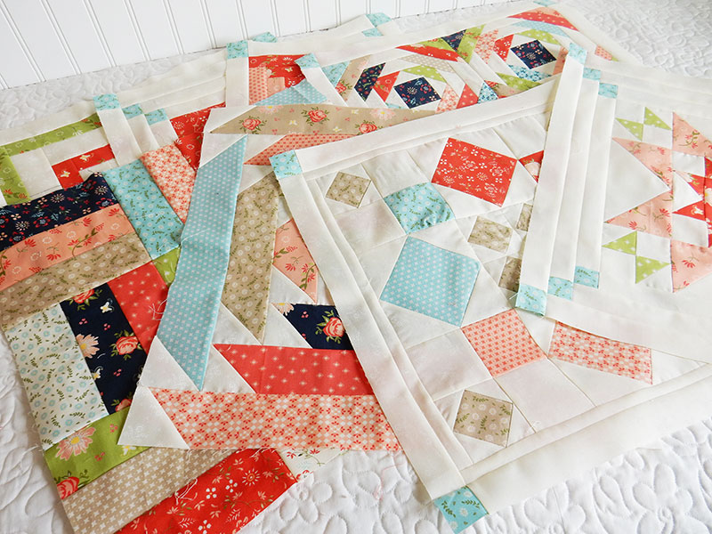 Sherri's sampler blocks