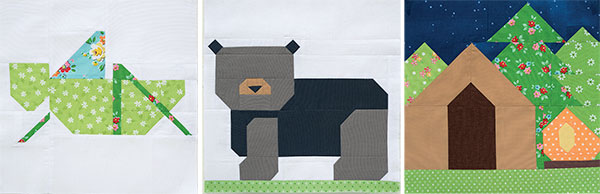 Quilt blocks from Patchwork Picnic
