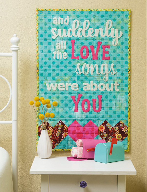 Loving You quilt