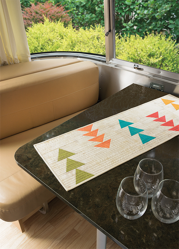 Turn Lane Table Runner